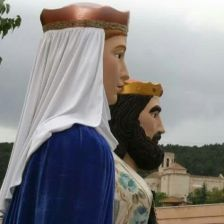 Els gegants de Sant Martí Sarroca