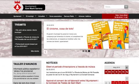 Nou portal web