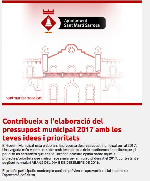 Ajuntament de Sant Martí